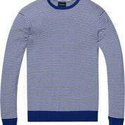Load image into Gallery viewer, Ams Blauw Crew Neck Knit in Cotton Cashmere