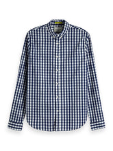 Load image into Gallery viewer, Scotch & Soda Stretch Gingham Shirt Regular Fit Combo A 0217