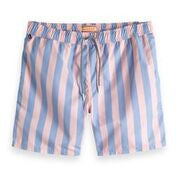 Preppy Striped Swimshort