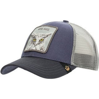 Goorin Bros - X The Owl Trucker Cap in Navy | Buster McGee Daylesford