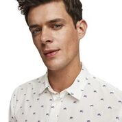 Load image into Gallery viewer, Scotch & Soda Classic All-Over Printed Shirt Regular  Fit Combo B Head