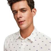 Scotch & Soda Classic All-Over Printed Shirt Regular  Fit Combo B Head
