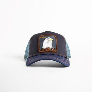 Goorin Bros - Flying Eagle Trucker Cap in Navy | Buster McGee Daylesford