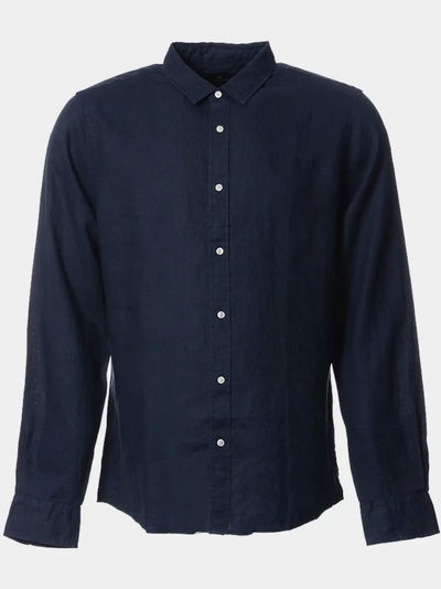 Scotch & Soda Linen Shirt in Night | Buster McGee Daylesford