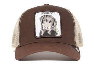 Goorin Bros - Sweet Chocolate Lab Trucker Cap in Brown | Buster McGee Daylesford
