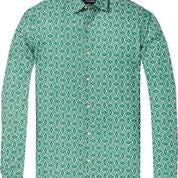 Regular Fit Classic All-Over Printed Shirt