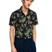 All-over Printed Short Sleeve Shirt