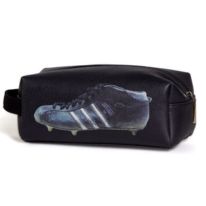 Sporting Nation Three Stripes Football Boot Wash Bag in Black