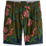 Scotch & Soda Printed Cargo Short Combo A 0217