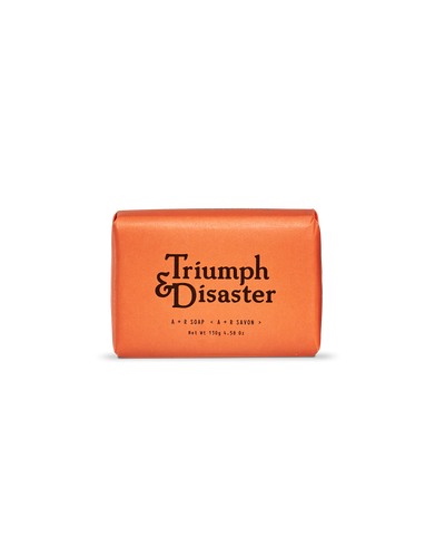 A & R Soap 130g Bar from Triumph & Disaster Front View
