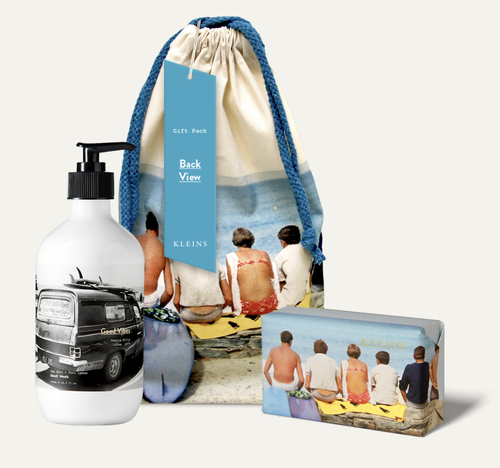 Kleins Perfumery Back View Gift Pack