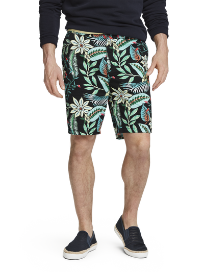 Scotch & Soda Printed Chino Shorts Combo C