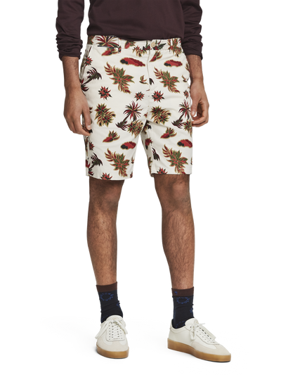 Scotch & Soda Printed Chino Shorts Combo B
