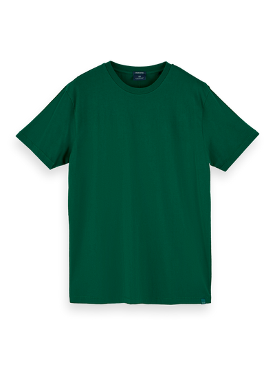 Scotch & Soda Organic Cotton Tee in Jungle Green | Buster McGee Daylesford