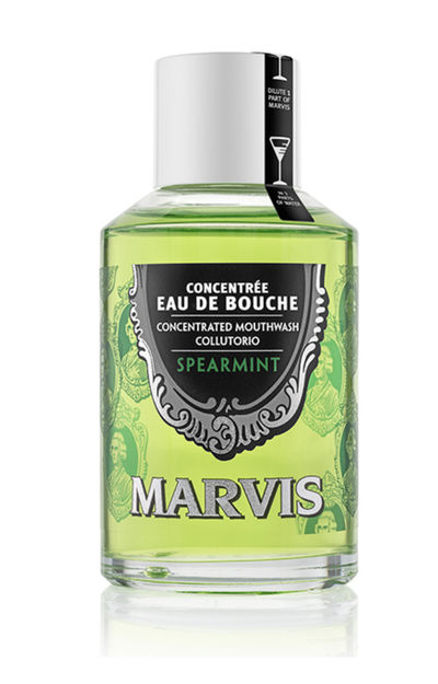 Marvis Spearmint Mouthwash 120ml Bottle