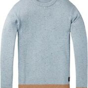 Load image into Gallery viewer, Crewneck Pullover in Wool Blend quality