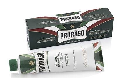 Proraso Refreshing & Toning Shave Cream in a tube