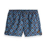 Shorter Length Sporty Swimshort with Print