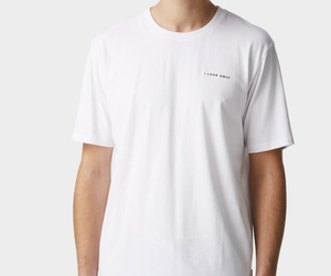 iLoveUgly Easy Logo Tee in White