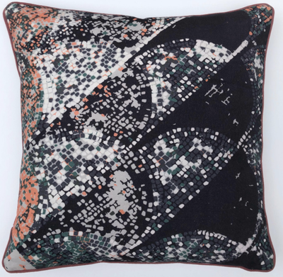 Pompeii Cotton Cushion designed by Peter Daavid