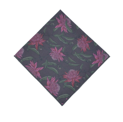 Peggy & Finn Waratah Pocket Square