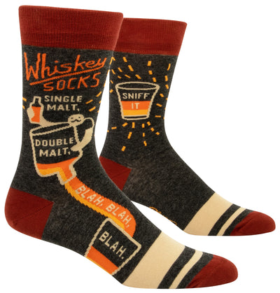 BlueQ - Men's Socks - Whiskey Socks