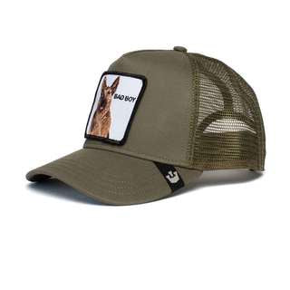 Goorin Bros - Bouncer Trucker Cap in Olive | Buster McGee Daylesford