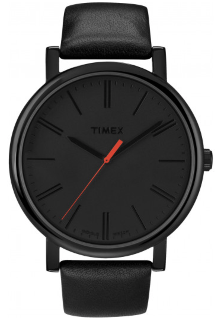 Timex Easy Reader Analogue Watch in Black