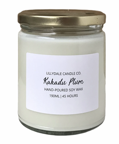 Lilydale Candle Co - Kakadu Plum Soy Wax Candle (Limited Edition)