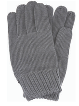 Load image into Gallery viewer, Avenel of Melbourne Wool Gloves in Charcoal