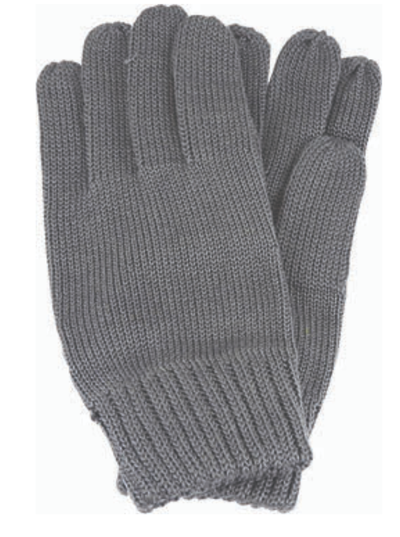 Avenel of Melbourne Wool Gloves in Charcoal