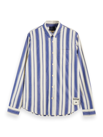 Scotch & Soda Longsleeve Shirt in Classic Stripe Combo B | Buster McGee Daylesford