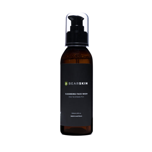 Bearskin Cleansing Face Wash 125ml