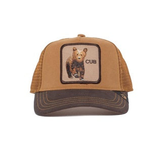 Goorin Bros - Bear Cub Trucker Cap in Brown | Buster McGee Daylesford