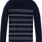 Scotch & Soda Structured Pattern Sweater Combo B 0218