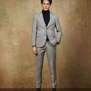 Scotch & Soda Peak Lapel Blazer in Wool-Blend Quality with Neps