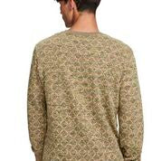 Scotch & Soda All-Over Printed Sweater in Multicolour Melange Felpa Quality
