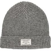 Load image into Gallery viewer, Scotch & Soda Classic Beanie in Structured Knit in Grey Melange