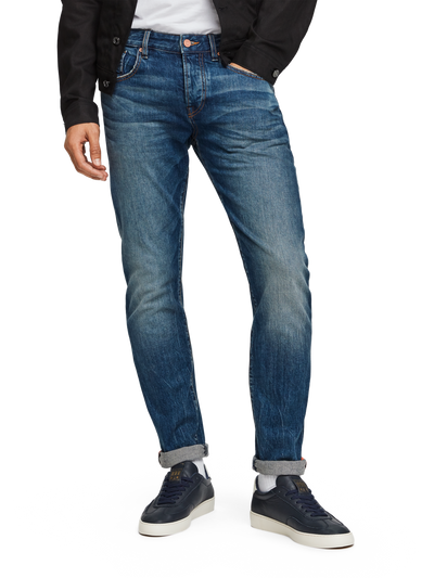 Scotch & Soda Ralston Handcraft Regular Slim Fit Jeans