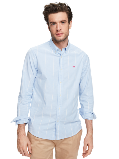 Scotch & Soda Classic Oxford Shirt Regular Fit Combo A 0217