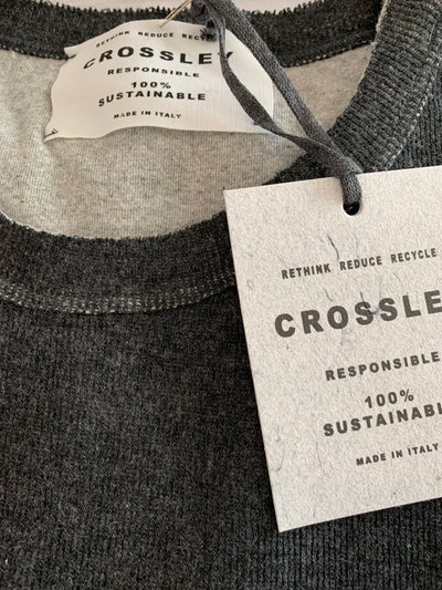 Crossley - LISSE Long Sleeve Sweater in Grey | Buster McGee Daylesford