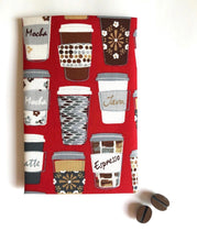 Load image into Gallery viewer, Hanky Fever Men's Coffee Cup Handkerchief