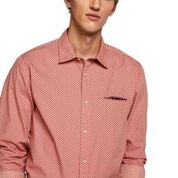 Scotch & Soda Cotton Shirt Regular Fit with Chest Pocket  Combo A 0217