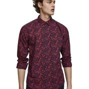 Scotch & Soda Classic All-Over Printed Shirt Regular  Fit