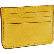 Classic Leather and Suede Card Holder