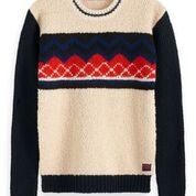 Load image into Gallery viewer, Scotch & Soda Mixed Teddy and Rib Knit Pullover