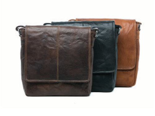 Oran Leather Logan Leather Bag