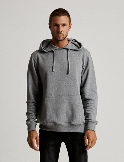 Mr Simple Fair Trade Pop Over Hood in Grey Marle
