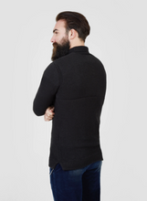 Load image into Gallery viewer, Pearly King Earthling Low Turtle Neck Knit in Charcoal
