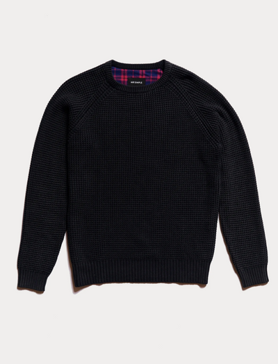 Mr Simple Chunky Knit / Black